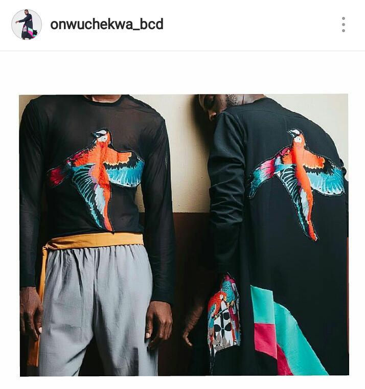 Chikizie Daniel Nigeria menswear designer