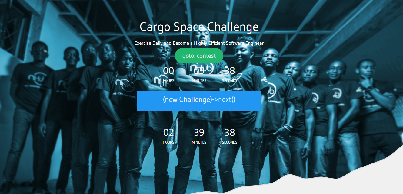 Cargo space challenge